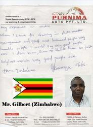 Mr. Gilbert (Zimbabwe)