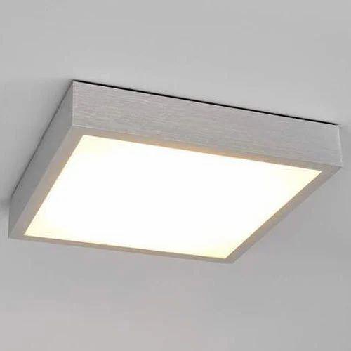 Aluminium Finnian Square Led Ceiling Light 9w Rs 840 Piece Mehandi Enterprises Id 19542849948