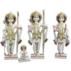Marble Ram Seeta Statues