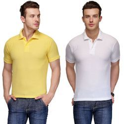 Men Polo Collar T Shirt