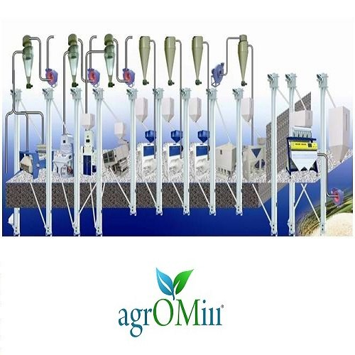 Automatic Rice Mill ( Agromill), Capacity: 10-20 Ton/Day