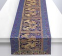 Dark Blue Elephant Table Runner