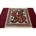 Decorative Aari Embroidery Cushion Cover