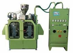 HDPE 500 ML Auto Deflashing Double Station Blow Molding Machine, Automation Grade: Automatic