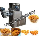 3 Phase Corn Rice Grit Cheese Ball Extruder Machine, 30 Hp, Capacity: 100-150 Kg Per Hour