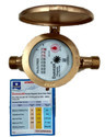 DASMESH 20mm Brass Multi Jet Class B Screwed Water Meter