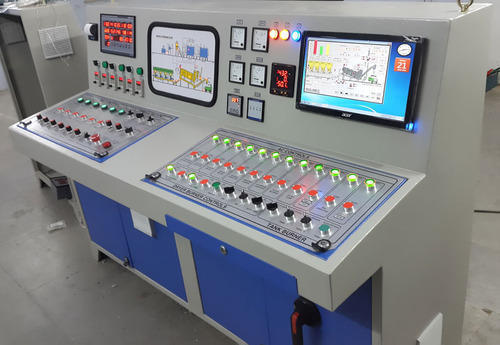 Three Phase DESHAN Hot Mix Plant Control Panel Board for Road Construction Equipemnts