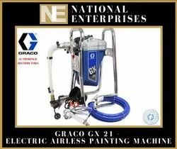 Gx 21 Graco Electric Airless Painting Machine