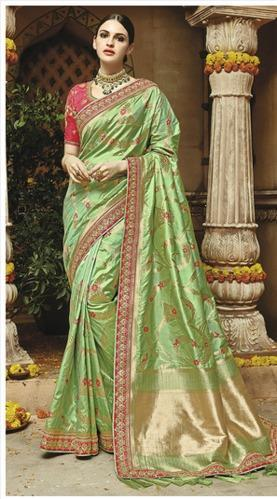 fe01137028 Art Silk Saree | Utsav Fashion | Wholesaler in Phase 1,, Delhi | ID ...