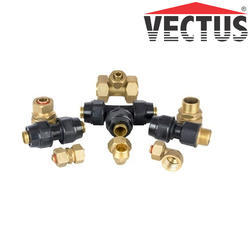 Brass Vectus Composite Pipes Fittings