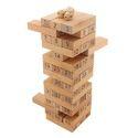 Jenga Blocks Wooden Tumbling Tower 48 Piece 24 cm