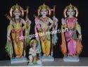 Marble Ram Pariwar Statues