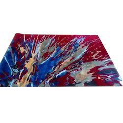 Kalpana Exports Multicolor Hand Tufted Rug, Size: 2 X 5 feet