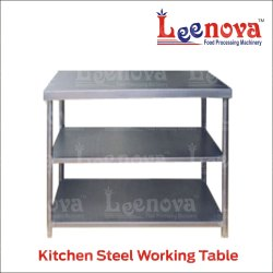 Leenova Steel Work Table