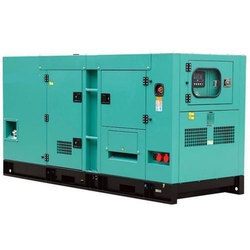 128-160 kVA Polished Green Used Diesel Generator, for Industrial