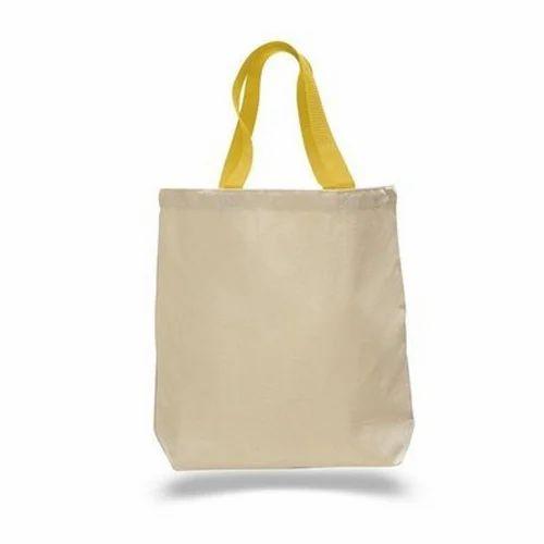 Yes Sir Plain Cotton Tote Bags 4e4ff7088dfe