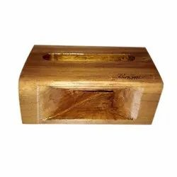 Table Top Teak Wood Modern Mobile Wooden Stand, Model Name/Number: 01