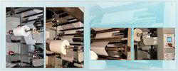 Four Colour Flexo Printing Press Machine