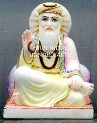 White Marble Guru Nanak Dev Ji Statue