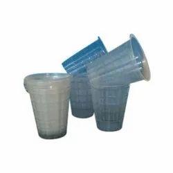 Plastic Plain Disposable Transparent Glasses