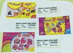 Mould & Paint Animals & Mould & Paint Teddy Bears/ Mould & Paint Little Fairy