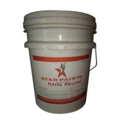 Plastic Emulsion Paint, Packaging Type: Bucket