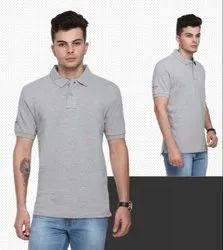 Cotton Grey US Polo T-shirts