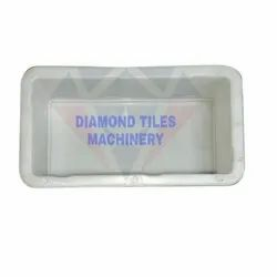 Rectangular Silicone Plastic Paver Mould