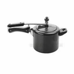 3 Ltr Aluminium Inner N Outer Lid Pressure Cooker, Packaging Type: Box