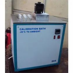 Negative Temperature Calibration Bath
