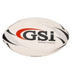 Red GSI Mini Rugby Ball