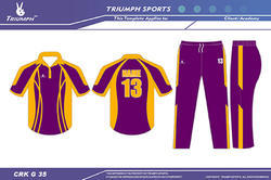 Club Cricket Uniforms