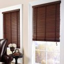 Brown Wooden Window Blinds