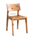 Mangowood Sheesham Wood Rosewood Teak Acacia Birchwood Oakwood Cafe Hotel Resort Chair