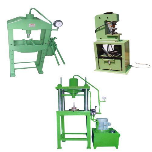 Hand Operated Steel Hydraulic Press, Capacity: 1-5 Ton
