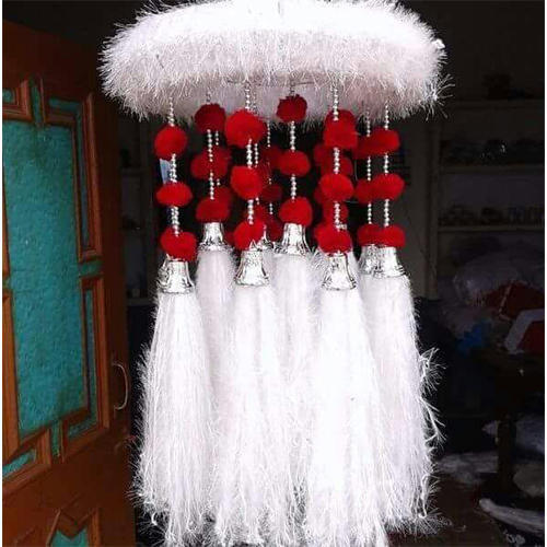 Woollen And Cotton Wall Hanging Decoration Jhumar Rs 1800 Piece
