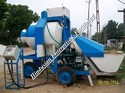 Reversible Mobile Concrete Mixer Machine