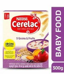 Nestle Cerelac Fortified Baby Cereal With Milk 5 Grains And Fruits