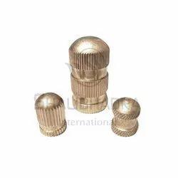 DBI-020 Brass Round Insert