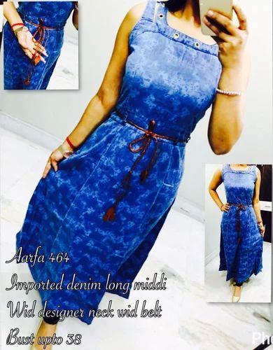 Kurtis Ladies Denim Short Kurti Retailer From Mumbai