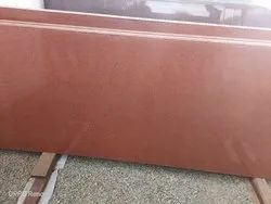 Slab Block Lakha Red Granite For Kitchen Top,Countertops, Thickness: 15-20 mm