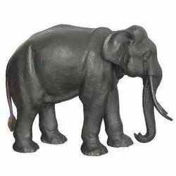 Exterior Decor FRP Elephant Statue
