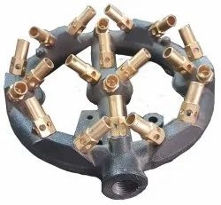 LPG and PNG Brass Jet Gas Burner