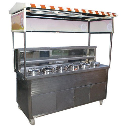 Silver Stainless Steel SS Display Counter
