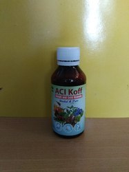 Aci Koff Cough Syrup, Packaging Type: Bottle