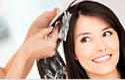 Woman Hair Color