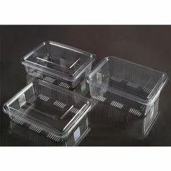 Rectangle Edible 1250 Ml, 1500 ml, 2000 ml Hinged Food Box