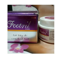 Fostril Cream, For Dry & Cracked Feet, Packaging Size: 50 Gm