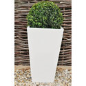 White Garden Flower Pot