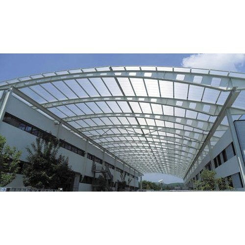 Poly Carbonate Roofing Shade, Thickness of Sheet: 2-10 mm ...